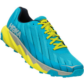 Hoka One One Torrent Hardloopschoenen Heren, cyan blue/citrus